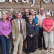 Gateway Centre volunteers